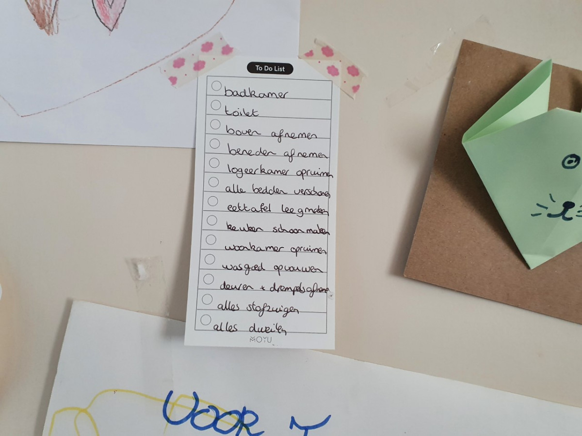 moyu uitwisbaar notitieboek