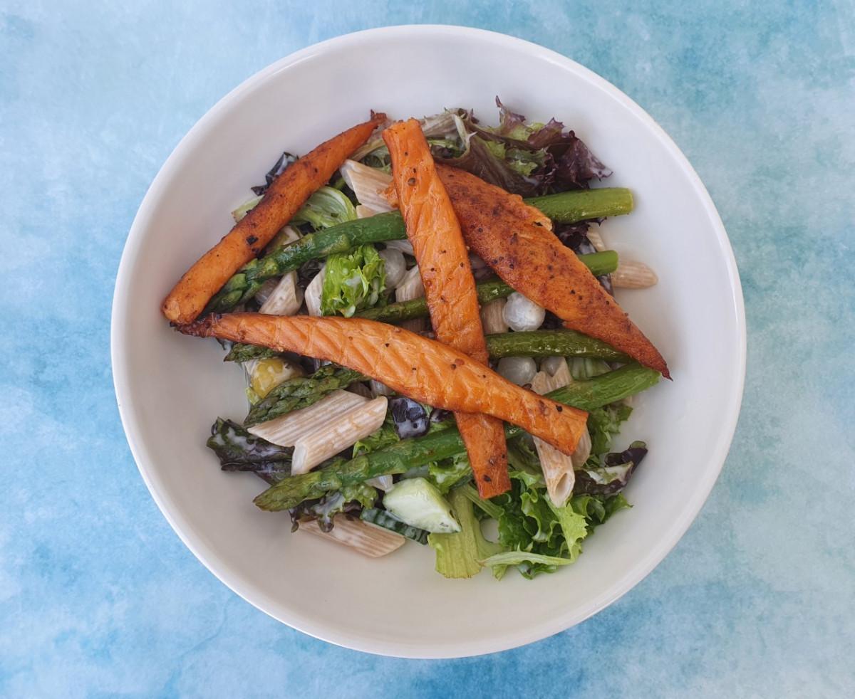 asperge pasta salade
