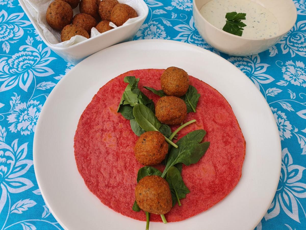 Een heerlijk recept met falafel : Foodblogswap april