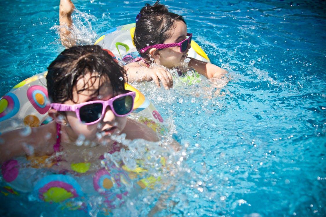 zwemmen met peuter