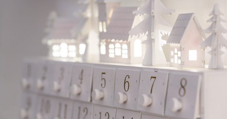 Kerst vier je met een adventskalender
