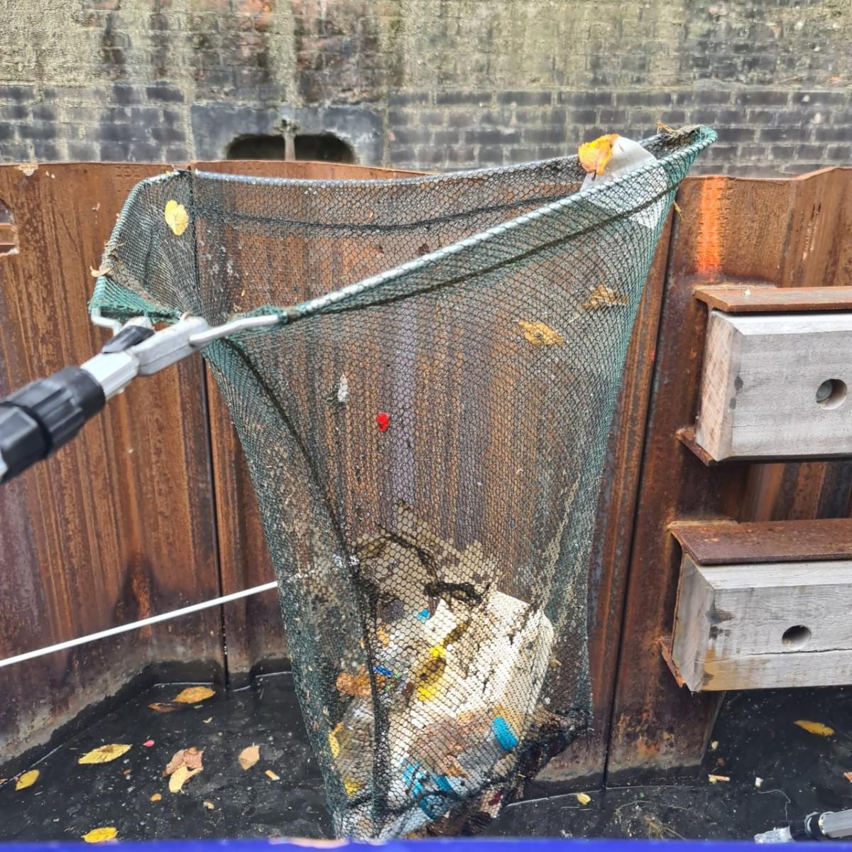 World Clean Up Day 2021 en netwerken op de blogboot